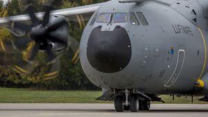 A400M der Luftwaffe bei Trident Juncture 2018