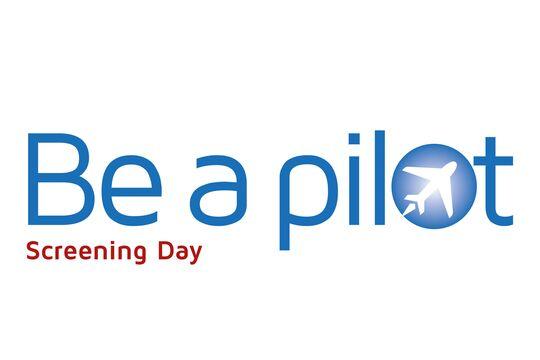 Be a pilot Screening Day Logo