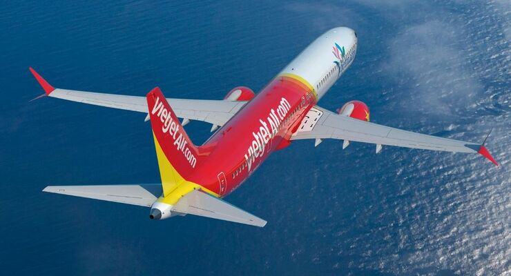 Boeing 737 MAX von VietJet Air
