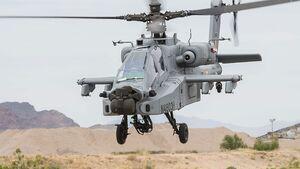 Boeing AH-64E (I) Apache der indischen Luftstreitkräfte.