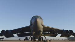 Boeing B-52H der USAF in Fairford.