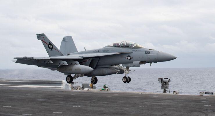 Boeing F/A-18F Super Hornet der US Navy