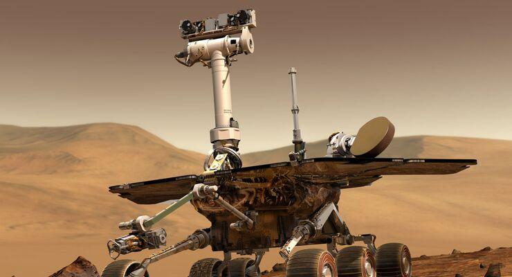 Der Mars-Rover Opportunity.