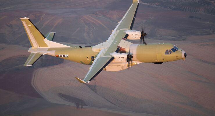 Erstflug der Airbus CC-295 für die Royal Canadian Air Force