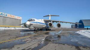 Iljuschin Il-76MD-90A aus der Serie bei Aviastar-SP in Uljanowsk