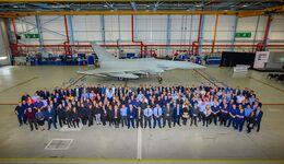 Letzter Eurofighter Typhoon für die Royal Air Force bei BAE Systems (September 2019).
