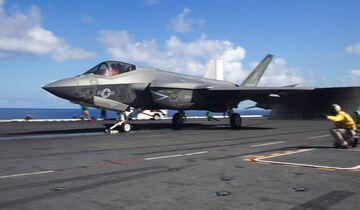 "Lockheed Martin F-35C der VFA-125 ""Rough Raiders"""