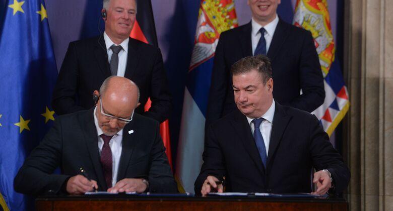MTU Aero Engines AG und die Regierung der Republik Serbien haben im Mai 2019 eine Absichtserklärung über den Aufbau eines neuen Triebwerks-Reparaturwerks unterzeichnet.