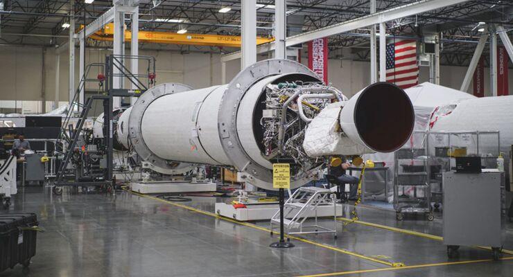 So sieht sie aus, die erste Orbitalrakete. Sie soll noch dieses Jahr fliegen.