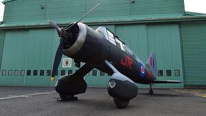 Westland Lysander beim RAF Museum in Cosford nach der Restaurierung.