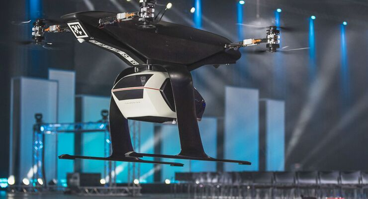 Audi Airbus Und Italdesign Testen Flugtaxi Konzept Flug Revue